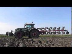 Fendt 936 Vario + 7 Furrow Kverneland   Van Peperstraten http://www.agromachinery1.com/video_listing/fendt-936-vario-7-plowing/