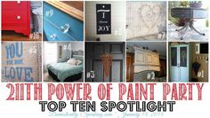 This week's Power of Paint Party is Live!