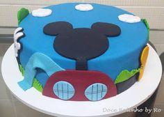 Bolo Casa do Mickey