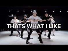 That's What I Like - Bruno Mars / Koosung Jung Choreography - YouTube