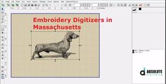 Absolute Digitizing is having a team of competent embroidery digitizers in Massachusetts to give you the best quality work within an affordable price tag Embroidery Digitizing Software, Essential Elements, Free Quotes, Custom Embroidery, Make Design, Good Company, Massachusetts, A Team