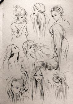 Different girls poses                                                       …