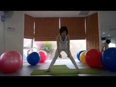 YOGA Bài tập yoga giúp cho ngực nở căng tròn - YouTube
