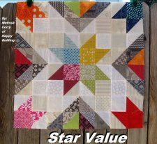Free Tutorial - Star Value Block by Melissa Corry
