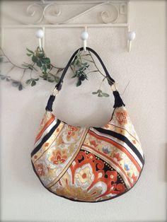 Kimono /  Obi /  Bag / BK455 Gorgeous Kimono Obi by RummyHandmade, $65.00