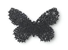 KARIN JOHANSSON-SE, Brooch: Butterfly, 2011 Oxidized silver 5,1 cm