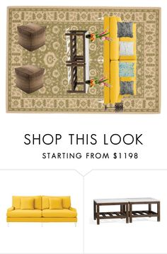 """Colonial-Era"" by rugpal on Polyvore featuring interior, interiors, interior design, home, home decor, interior decorating, Serena & Lily, Pottery Barn, Surya and Designs by Lauren"