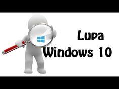 Cómo mostrar u Ocultar la Lupa de Búsqueda en Windows 10 | Windows Fácil
