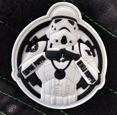 Empire Poppin Stormtrooper Limited Edition 3D PVC Patch | Tactical Outfitters