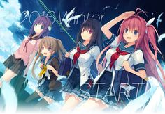 wallpaper images ao no kanata no four rhythm