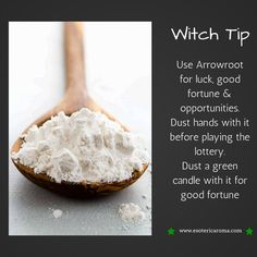The Magick of Arrowroot The Magick of Arrowroot,Magic Witch The Magick of Arrowroot Related schöne Nail Art Trends und Ideen @ - Nail Art Design. Hoodoo Spells, Magick Spells, Wiccan Witch, Gypsy Spells, Magic Herbs, Herbal Magic, Luck Spells, Money Spells, Kitchen Witchery