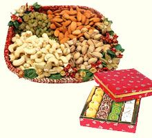Dry Fruit basket and sweet box