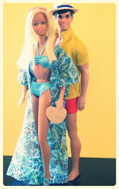 Barbie - Malibu Barbie and Ken