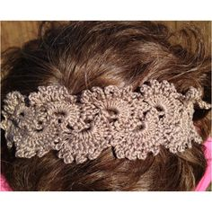 Crochet headband I made