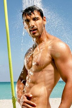 john abraham - one of the few reasons an occasional bollywood movie will not kill you