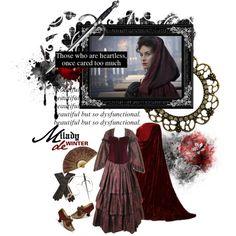 """Milady de Winter"" by savagedamsel on Polyvore"
