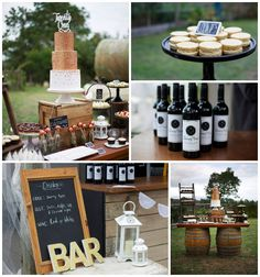 I like this rustic 21st birthday theme held at a farm. A rustic winery is a good option if you're celebrating with family (and not every 21 year old wants to get wasted) #21stBirthdayPartyIdeas