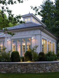 Conservatory Windows With Beautiful Colored Paint 20
