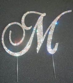 letter m monogram cake toppers - Yahoo! Image Search Results