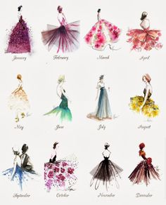 Paper Fashion 2014 Calendar Thank you Katie Rodgers, the illustrator behind Paper Fashion for sending me this beautiful calendar A Year of Gowns! Illustration Mode, Fashion Illustration Sketches, Fashion Sketchbook, Fashion Sketches, Dress Sketches, Art Sketches, Art Drawings, Paper Fashion, Fashion Art