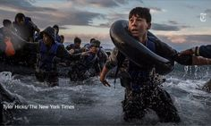 Migranti by Tyler Hicks - New York Times