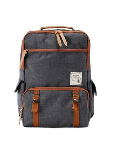 Back to school backpack Charcoal gray by BagDoRi on Etsy, $77.90