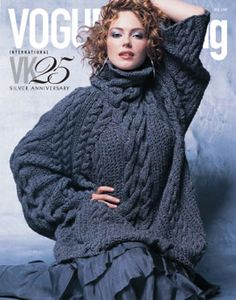 Modelo plymouth, de Vogue Knitting.