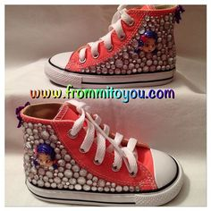 44c66a045bfd  carnival  pink  custom  design  converse  chucktaylor  bubbleguppies   nickjr  oona  peach  peachy  frommitoyou  kid  kids  children  girl  girly   girlie