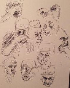 Sketches of a Drunken And Broken Hearted Man. #sketches #sketch #draw #drawing #art #artist #artistoninstagram