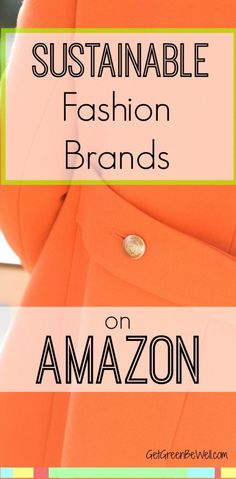 Cute sustainable fashion brands that you can buy on Amazon! Trendy and beautiful clothes that are eco-friendly. Ethical fashion has never looked so good, or been easier to find!