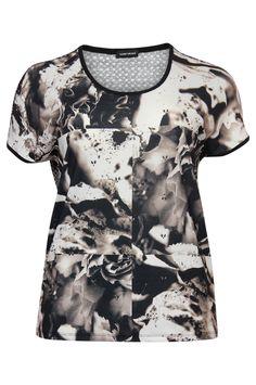 Mooie T-shirt van Gerry Weber. Online bestelbaar bij www.NR4.be Nr4 uw speciaalzaak in grote maten