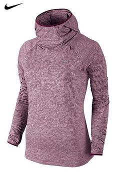 Nike Element Women s Running Hoodie gets you running through the season in  a sleek design of sweat-wicking and mesh fabrics for breathability where  you need ... 6f962f398ec