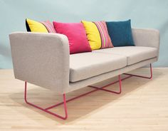 Feld Sofa  Rosa Füße von namedesignstudio auf Etsy, $2250.00