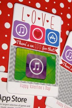 App Valentine by Making Life Whimsical - Skip To My Lou Homemade Valentines, Happy Valentines Day, Happy Hearts Day, Birthday Cards For Boys, Itunes Gift Cards, Gift Card Giveaway, All Holidays, Teacher Gifts, Whimsical