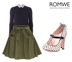 """""""NJ😭"""" by lady-shadylady ❤ liked on Polyvore featuring beauty, Dorothy Perkins and RED Valentino"""