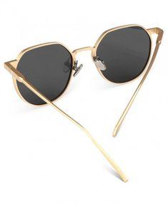 3e78e7e509 Fashion Sunglasses Polarized Decorative Spectacles - Gold - C51899K05TG