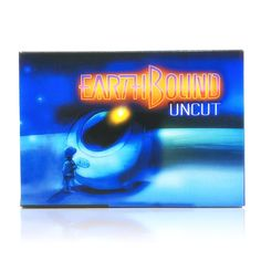 EarthBound: Uncut SNES Super Nintendo game, includes box and game cartridge only. Cleaned, tested and comes with a FREE box protector! Super Nintendo Console, Super Nintendo Games, More Games, Games To Play, Atm Card, Free Boxes, Entertainment System, Save The Planet, Boy Names