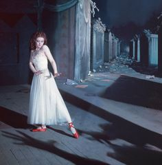One of my favorite movies I watched as a child, by recommendation of my abuelita. [The Red Shoes, 1948]