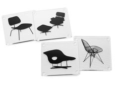 Hostess Gifts: eames chairs coaster set