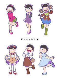 画像 Osomatsu San Doujinshi, Ichimatsu, Cute Memes, Fanart, Anime Guys, Photo Book, Anime Characters, Chibi, Character Design