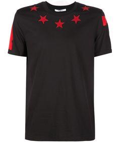 GIVENCHY Givenchy Men's  Black Cotton T-Shirt. #givenchy #cloth #