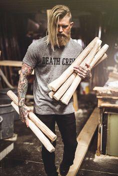 When craft meets fashion. Death Crew.