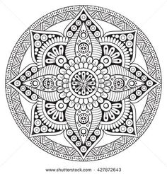 Find Mandala Vector Mandala Floral Mandala Flower stock images in HD and millions of other royalty-free stock photos, illustrations and vectors in the Shutterstock collection. Mandala Art, Mandala Floral, Mandala Drawing, Mandala Painting, Mandala Pattern, Dot Painting, Pattern Coloring Pages, Mandala Coloring Pages, Coloring Book Pages