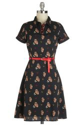 Sale Best Bits - SAVVY Chic, Canny Style @ModCloth owl in good time dress