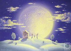 освещение при луне рисунки - Поиск в Google