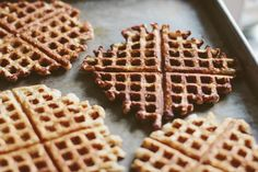 Buckwheat Pancakes with Roasted Cardamom-Vanilla Rhubarb Compote ...