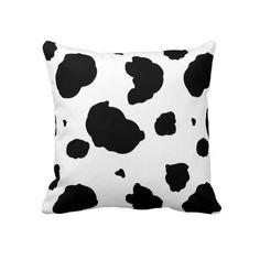 Cow Print pillow