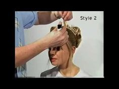 Bridal long hair style 5.wmv Patrick Cameron