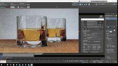 3ds max tutorial - Iluminacion en Radeon ProRender (vaso de Whisky)