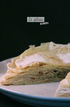 Gâteau de crêpes  #chandeleur #crêpes gâteau #food